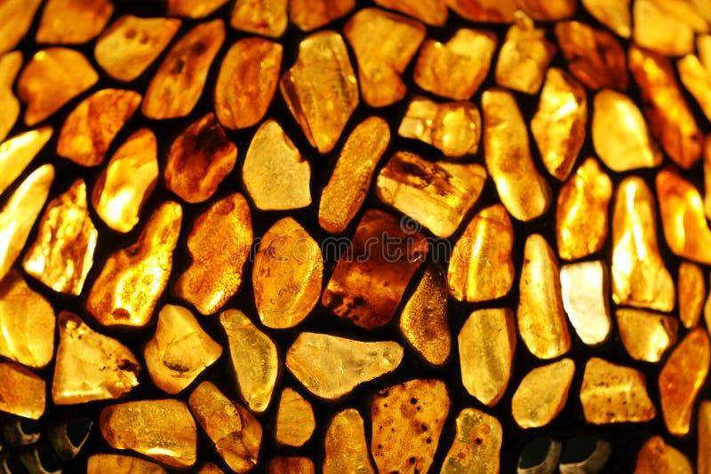Amber achtergrond stock afbeeldingen