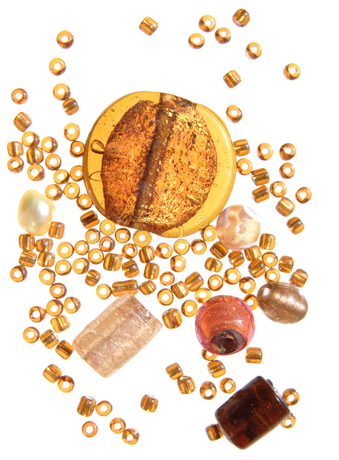 Free Amber Beads Royalty Free Stock Photos - 5023438