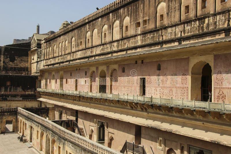 Amber Fort à Jaipur, Ràjasthàn, Inde images stock