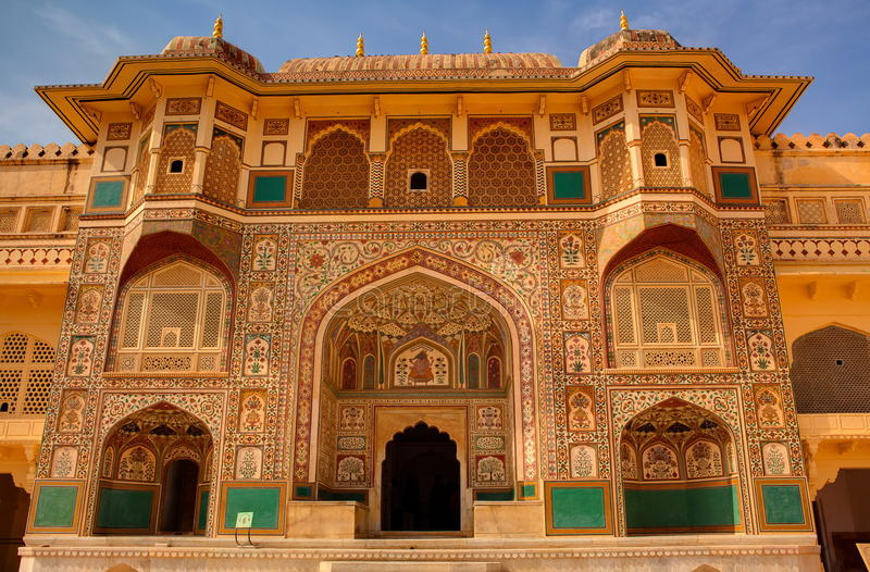 Amber Fort royalty free stock photos