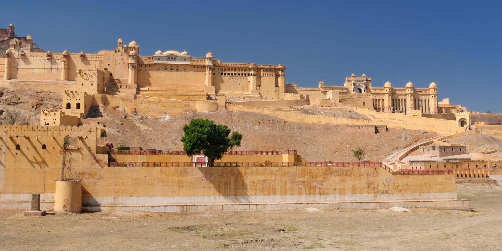 Download Amber Fort stock image. Image of colorful, asia, orange - 14777985
