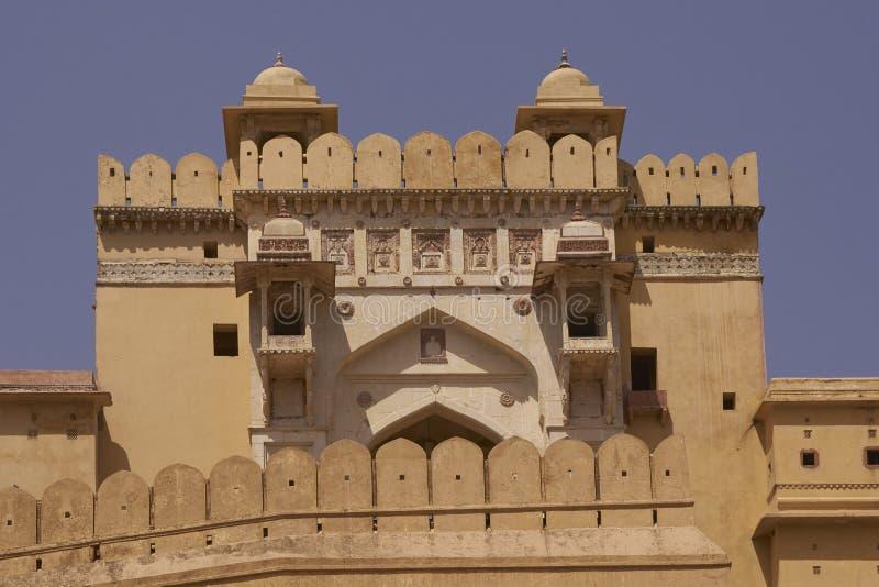 Amber Fort en Jaipur, Rajasthán la India fotos de archivo libres de regalías