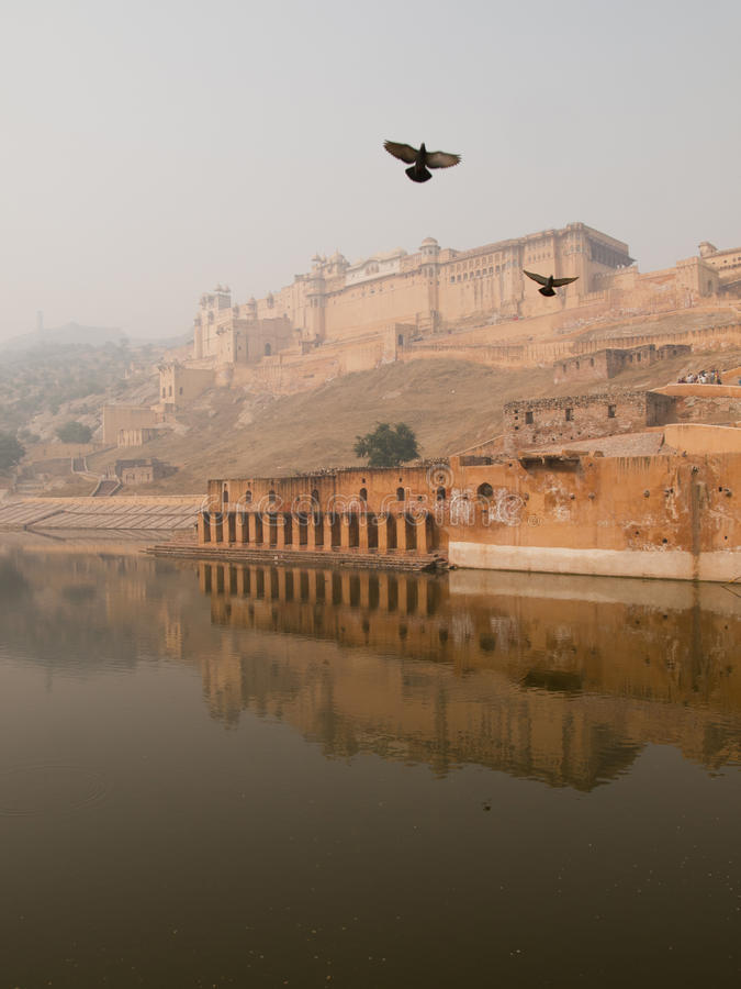 Free Amber Fort In Jaipur Stock Images - 21478684