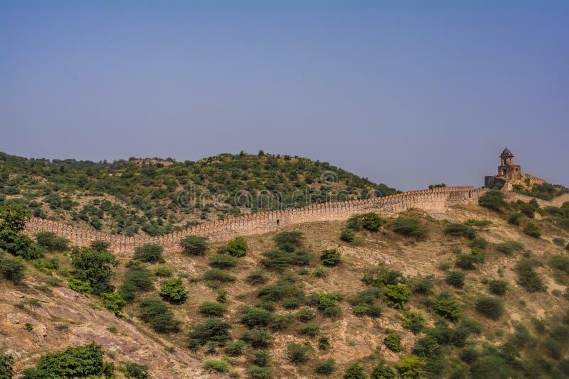 Amber Fort India Jaipur Rajasthan stock foto's