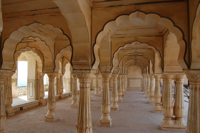 Amber fort jaipur stock photo