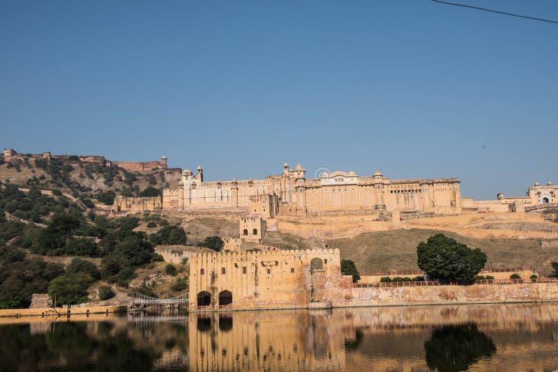 Amber fort in Jaipur royalty-vrije stock foto