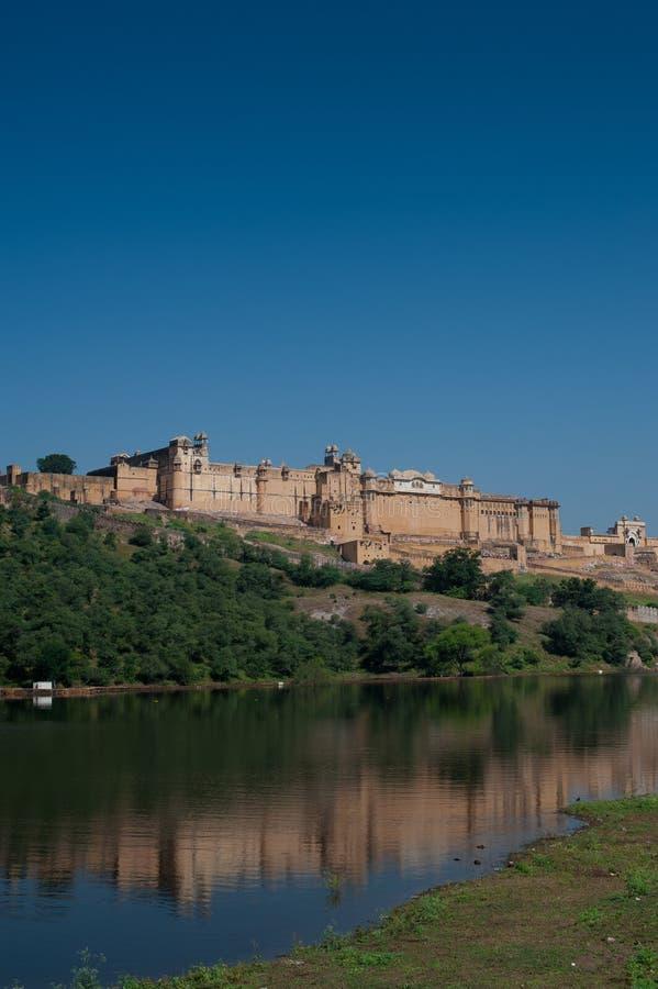 Amber Fort Jaipur across the lake