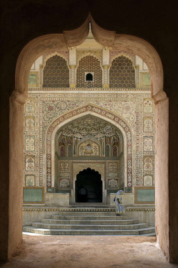 Amber Fort - Jaipur - India royalty free stock images