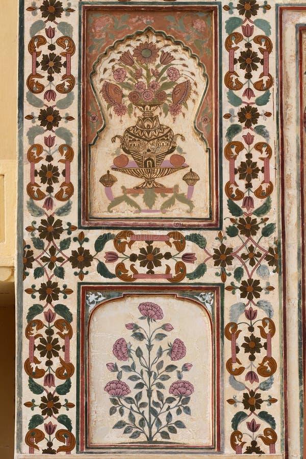 Amber fort, Jaipur, India stock afbeelding