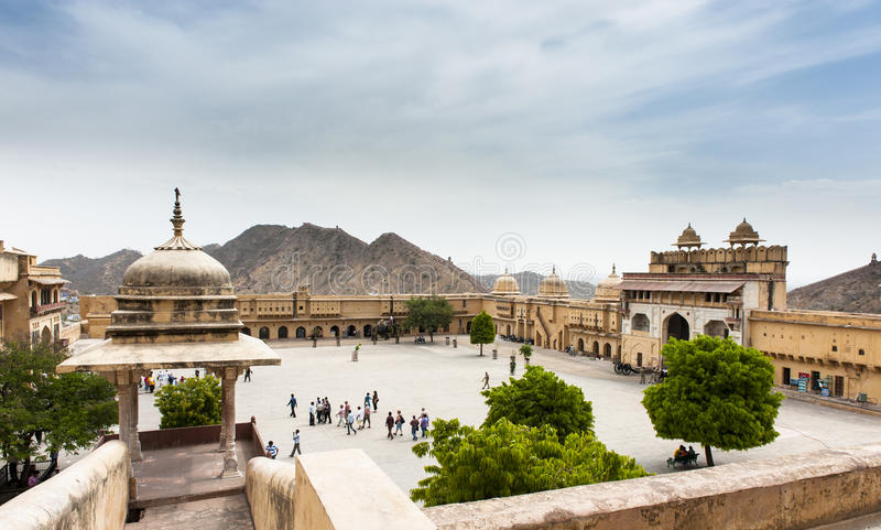 Amber Fort, Jaipur, India royalty-vrije stock fotografie
