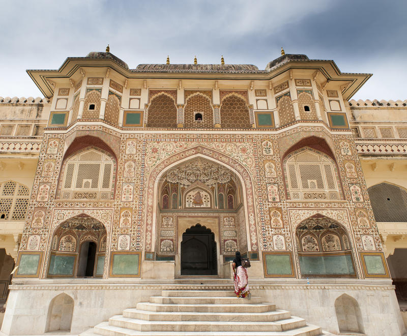 Amber fort jaipur india stock image image of fort for Decor india jaipur