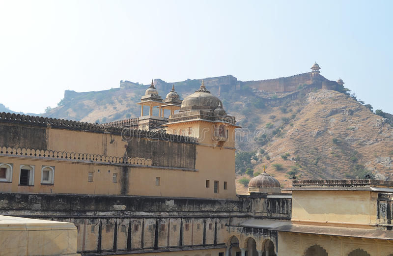 Amber Fort, Jaipur, India stock afbeeldingen