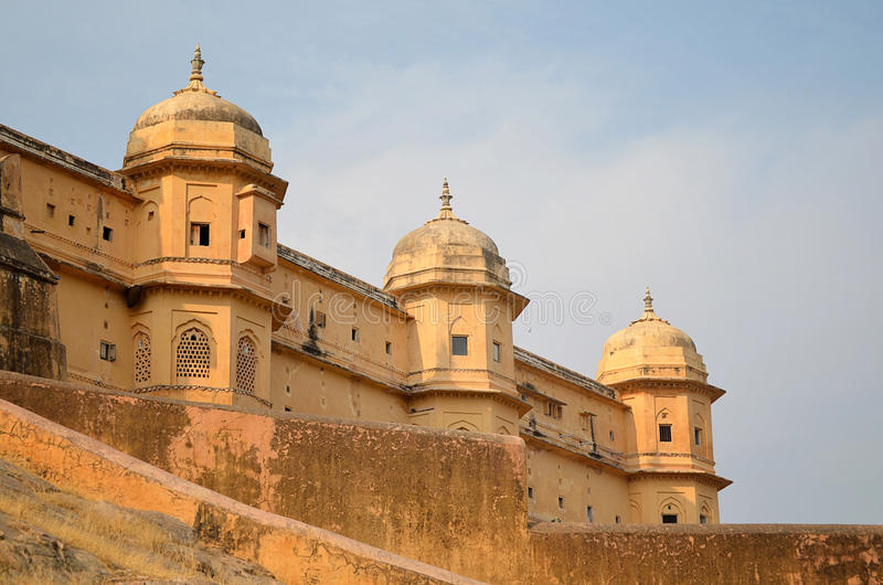 Amber Fort, Jaipur, India royalty-vrije stock foto