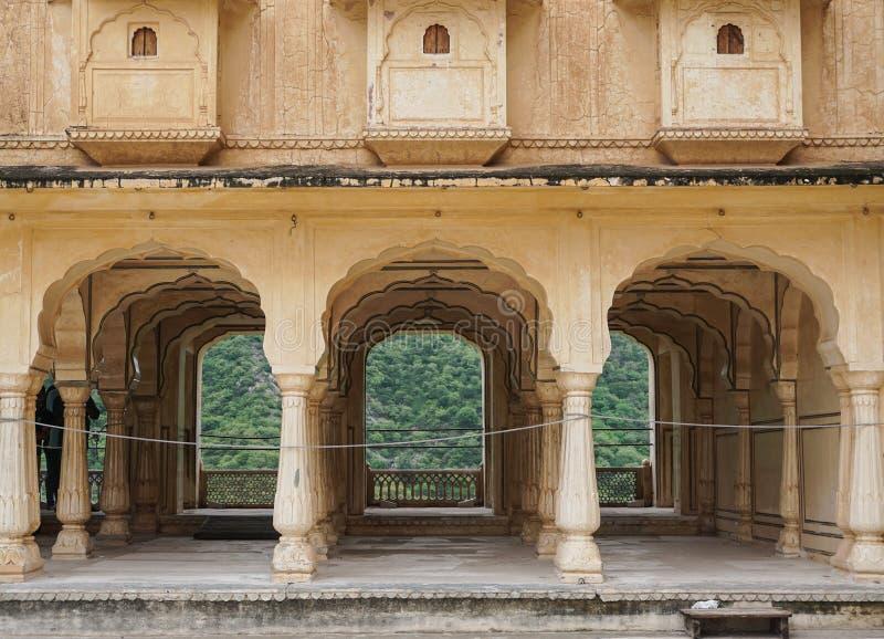 Amber Fort in Jaipur, India stock afbeeldingen