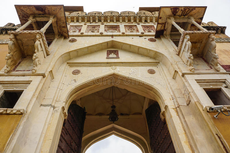 Amber Fort in Jaipur, India stock image