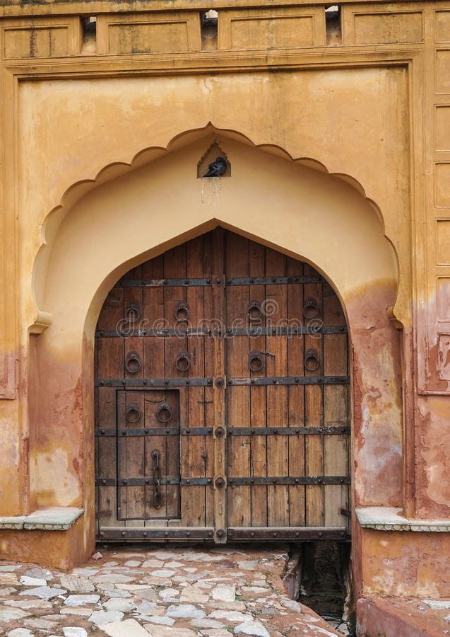 Amber Fort in Jaipur, India royalty free stock image