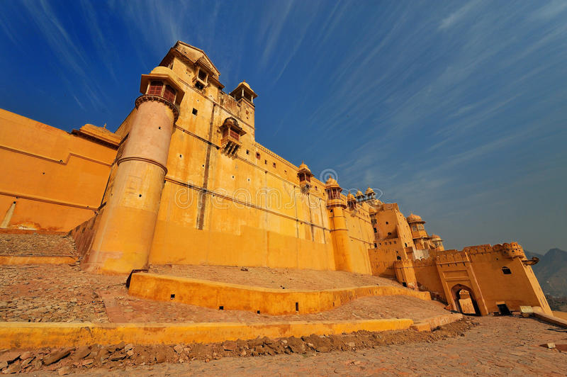 Download The Amber Fort In Jaipur,rajasthan,india. Stock Image - Image: 13257301