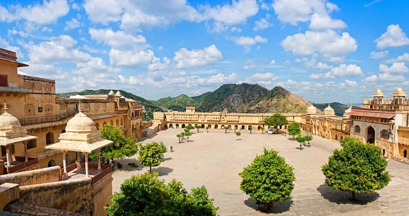 Amber Fort in Jaipur, Rajasthan, India. Amber Fort in Jaipur, Rajasthan, India royalty free stock photo