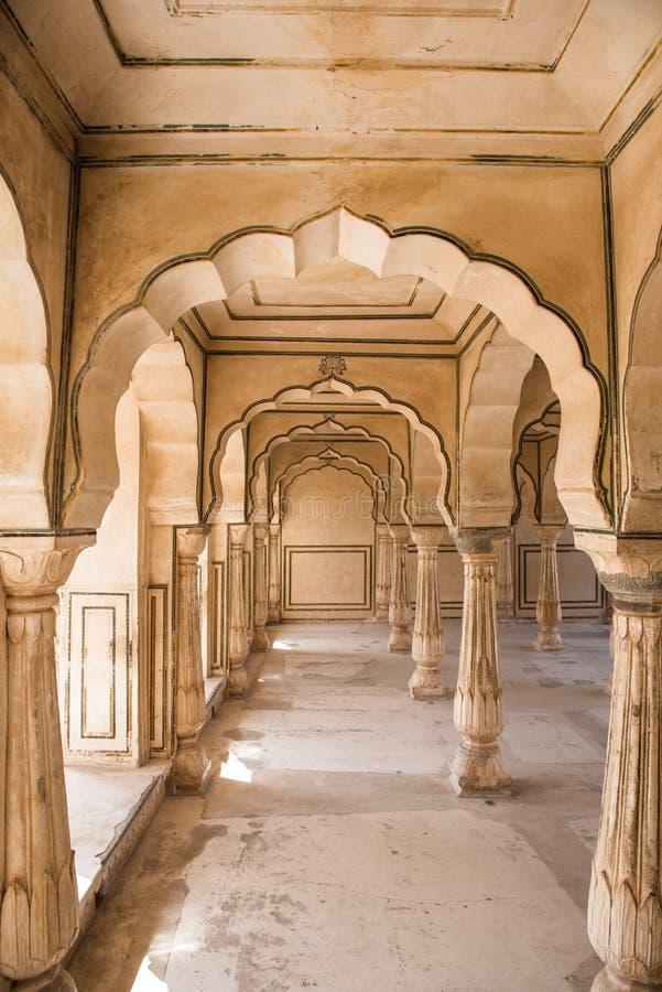 Amber Fort Majestic Architecture photos libres de droits