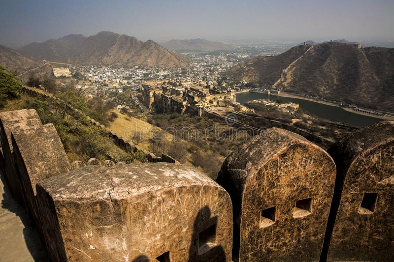 Amber Fort at Noon royalty free stock images