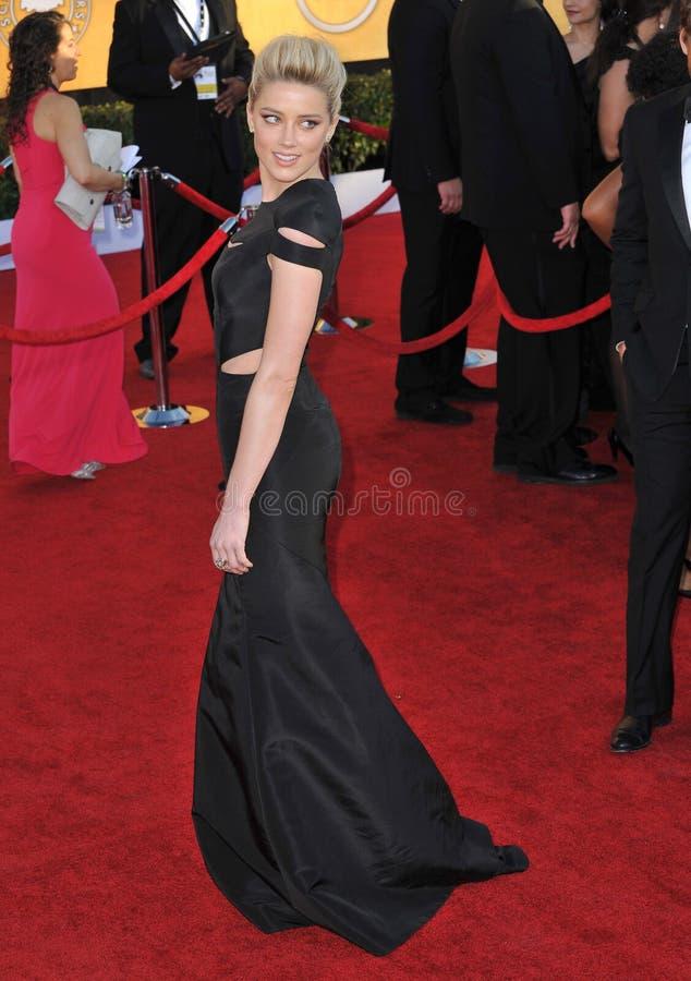 Amber Heard Editorial Image