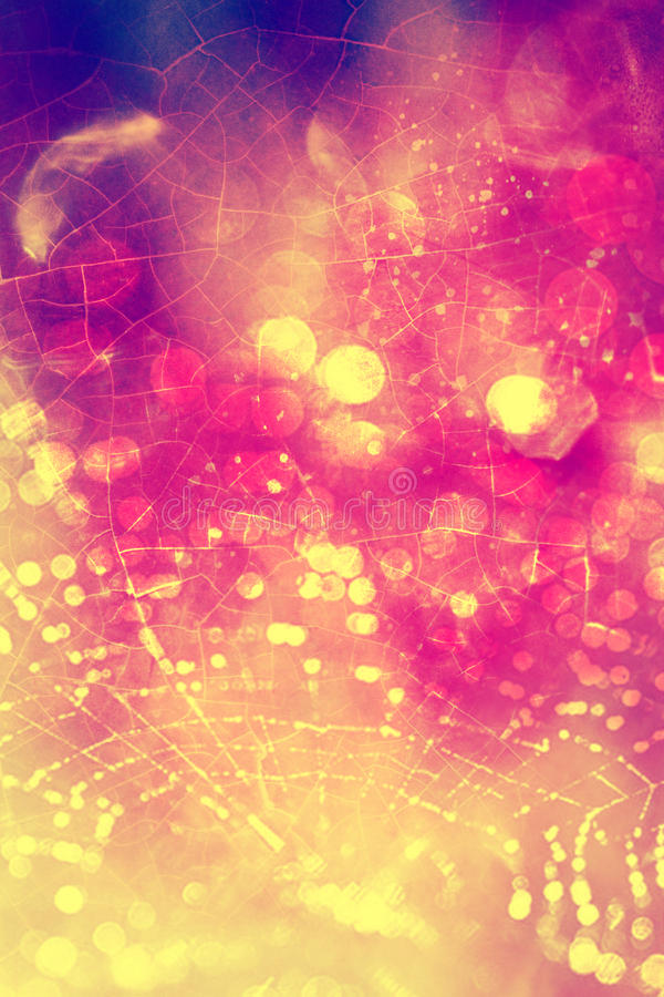 beautiful summer abstract texture background love Beaded Cobweb texture colorful grunge vintage stock images