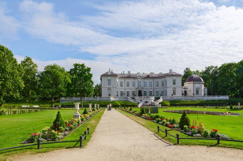 Amber Museum Palanga, Litauen arkivbilder