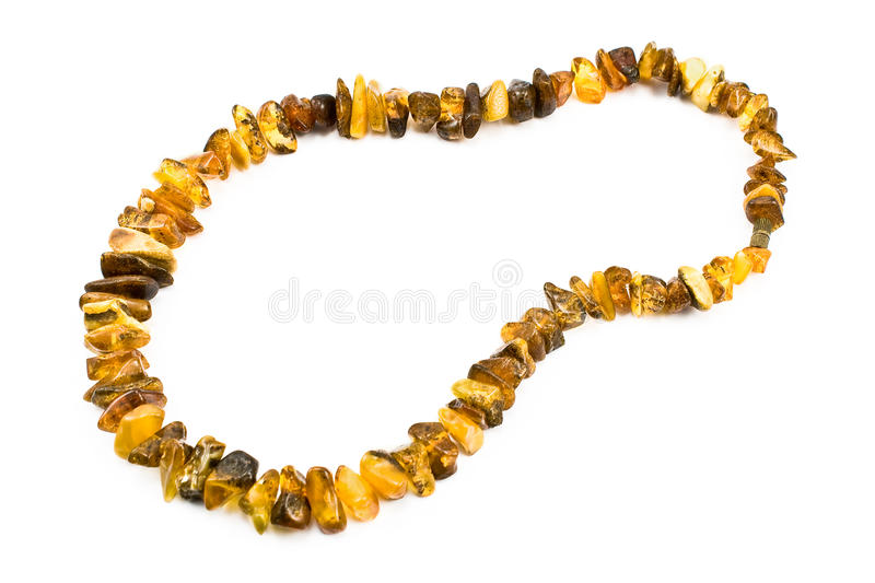 Download Amber necklace stock photo. Image of adornment, orange - 18748688