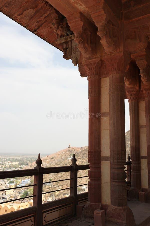Amber Palace, Jaipur, India royalty free stock images