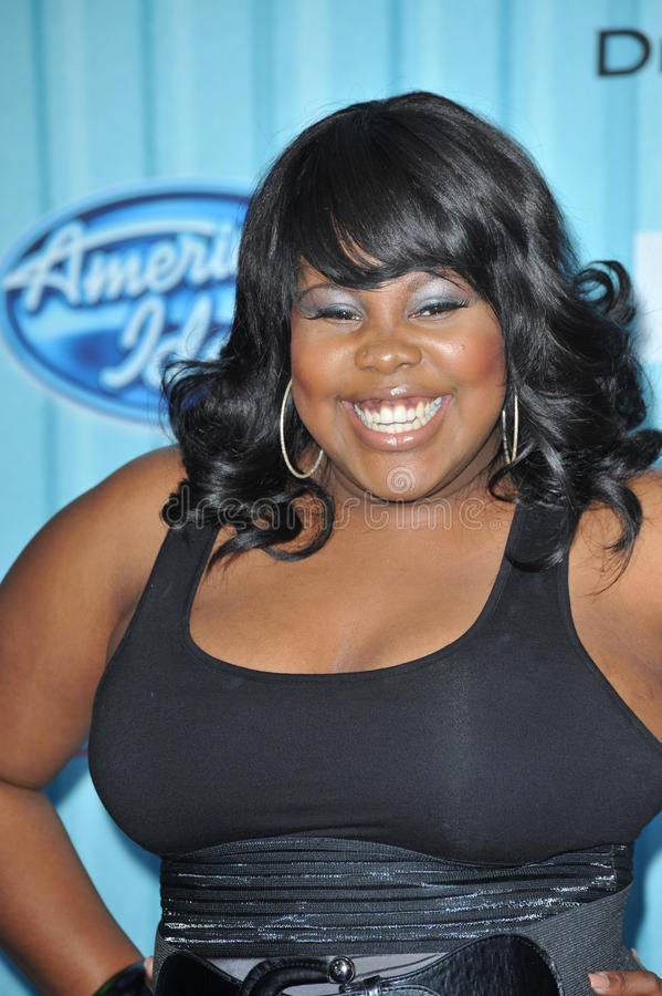 Amber Riley royalty free stock photography