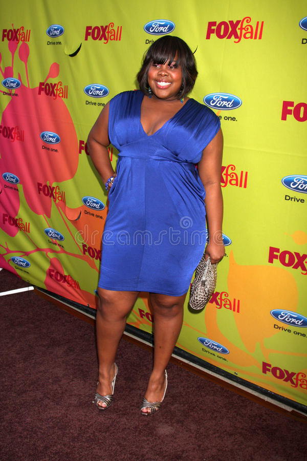 Amber Riley. Arriving at the FOX-Fall Eco-Casino Party at BOA Steakhouse in West Los Angeles, CA on September 14, 2009 stock photos