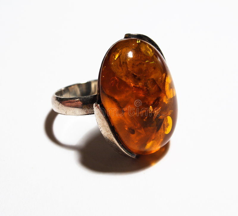 Amber Ring stock images
