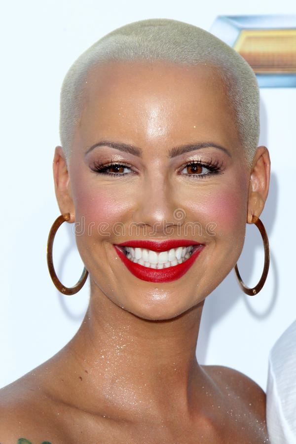 Amber Rose Arrives At The 2012 Billboard Awards Editorial Photography