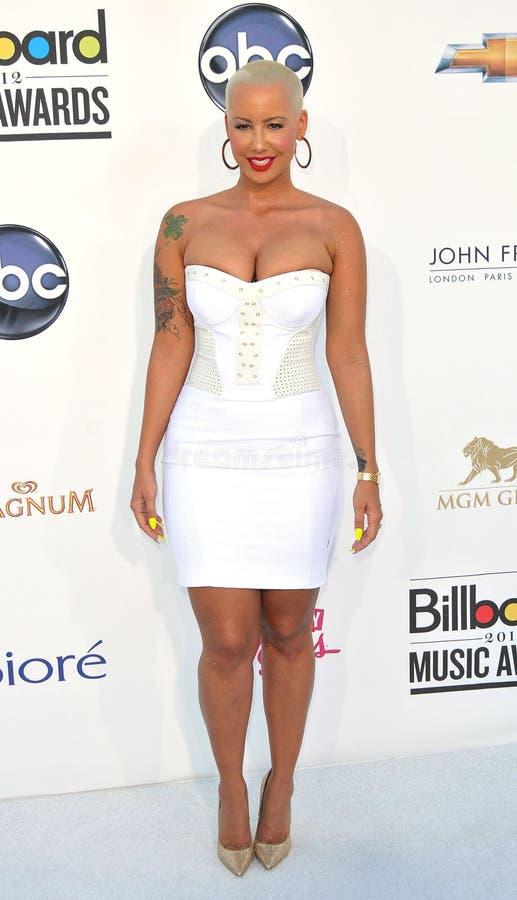 Amber Rose Arrives At The 2012 Billboard Awards Editorial Image