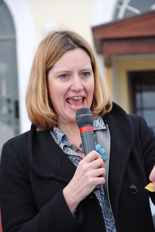 Amber Rudd, politicus stock afbeeldingen