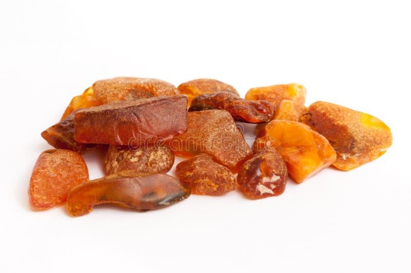 Amber stone stock photos