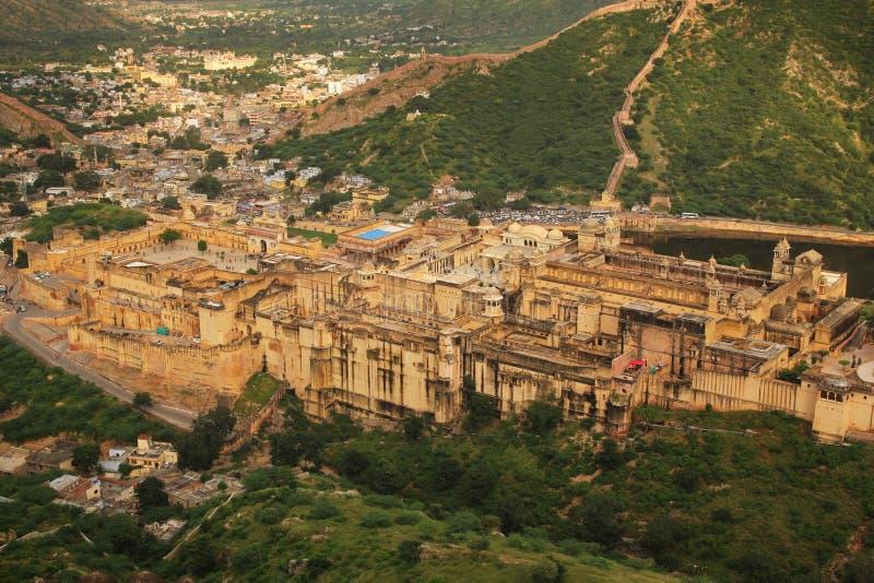 Amber vooruit in India royalty-vrije stock foto