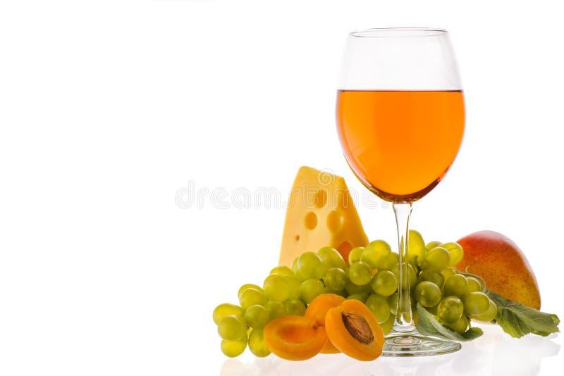 Amber Wine fotografia stock libera da diritti