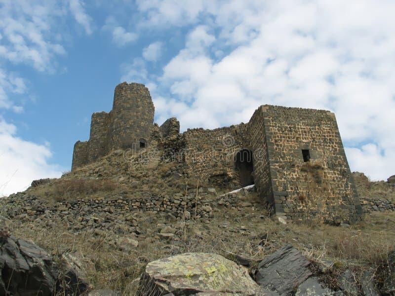 amberd亚美尼亚城堡 库存照片