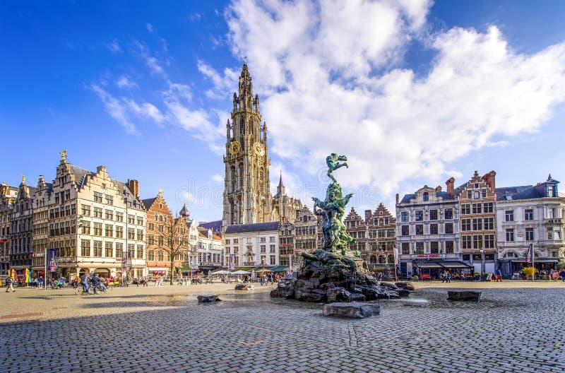 Amberes, Bélgica imagenes de archivo