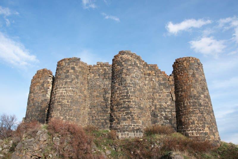 Amberts slott royaltyfri fotografi