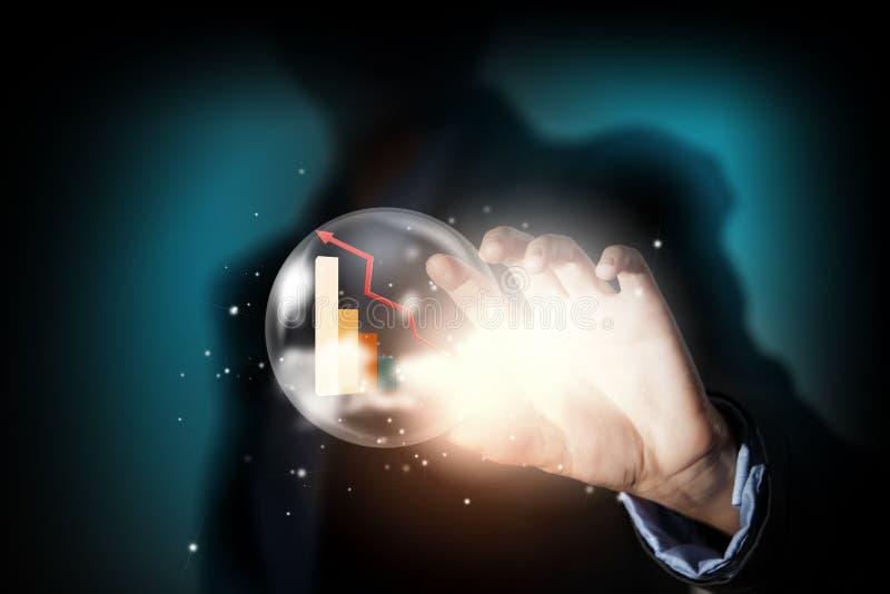 Ambições do negócio imagem de stock