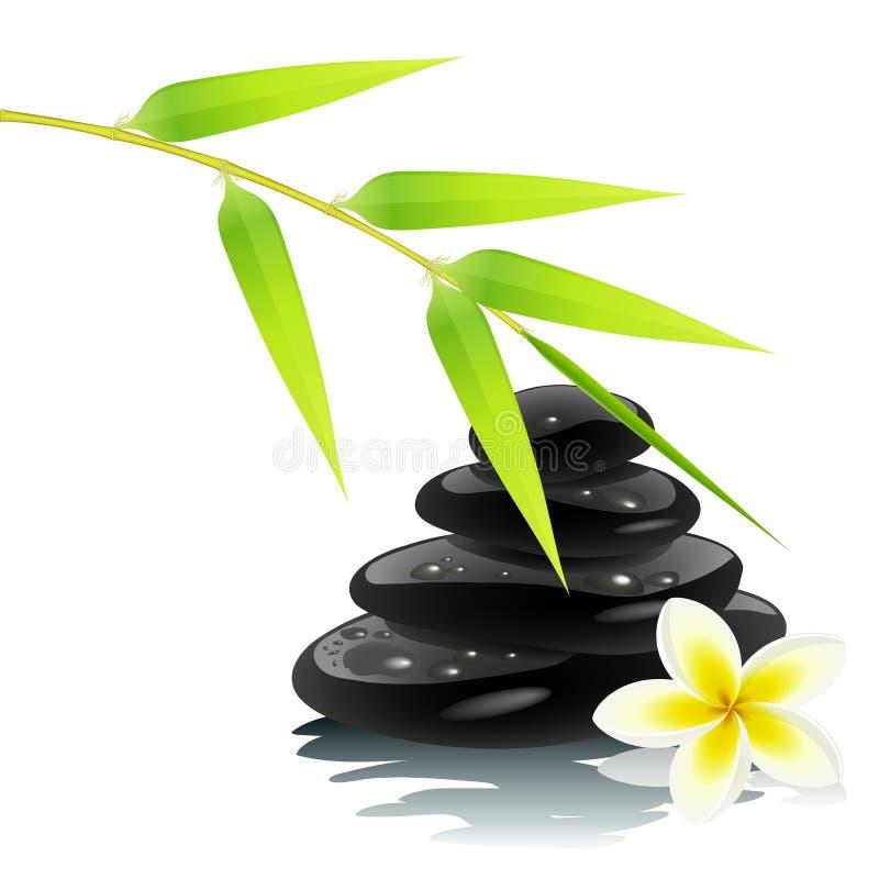 Ambiance de zen illustration de vecteur