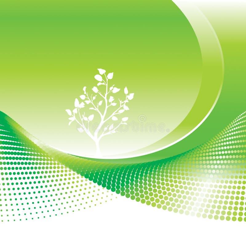 Ambiant vert illustration libre de droits