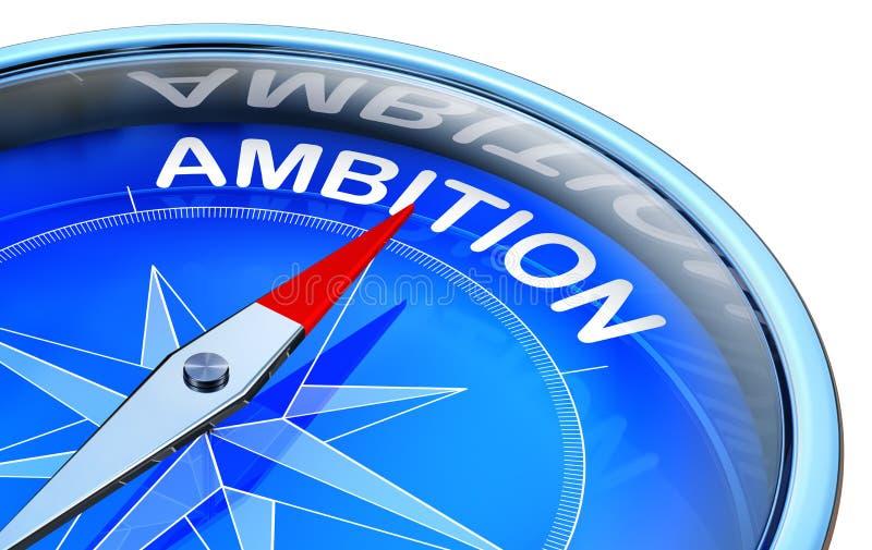 ambición stock de ilustración