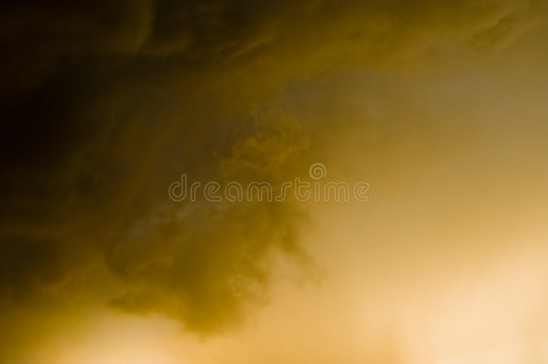 Ambient stardust. Background - ambient, gold stardust in space royalty free stock photos