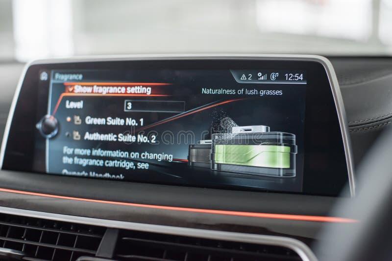 Ambientador de aire incorporado al coche fotografía de archivo libre de regalías