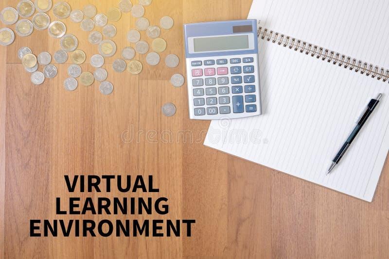 Ambiente de aprendizagem virtual foto de stock royalty free