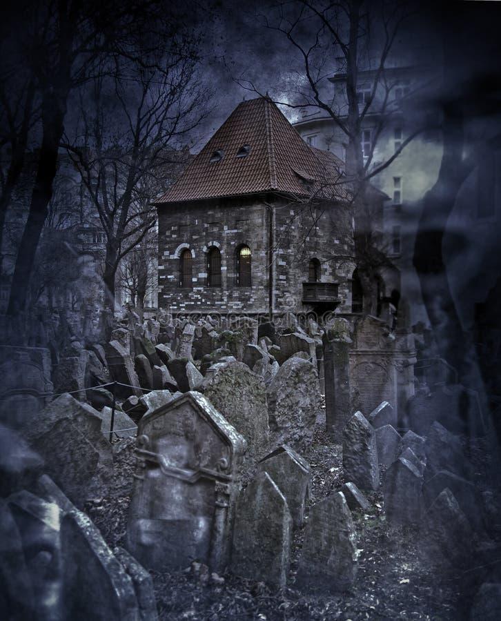 Ambiente de Halloween fotografía de archivo libre de regalías