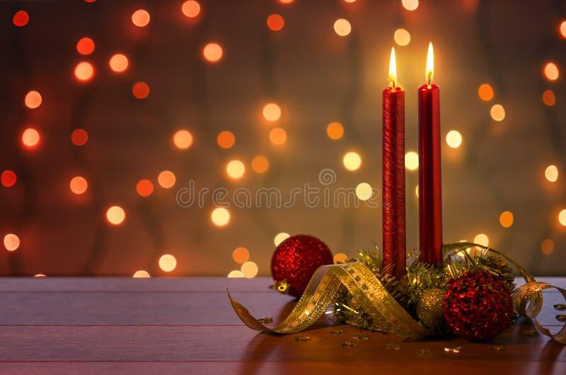 Ambiente de la Navidad fotografía de archivo libre de regalías